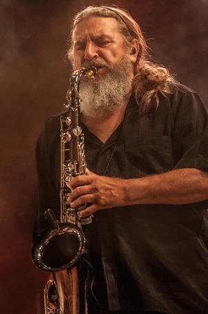Otto Staniloi, Saxofon